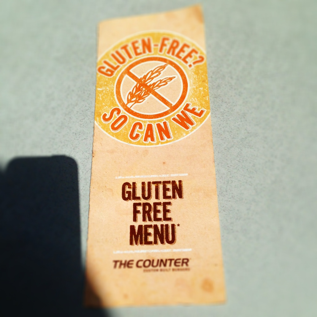 The Counter Gluten Free Menu