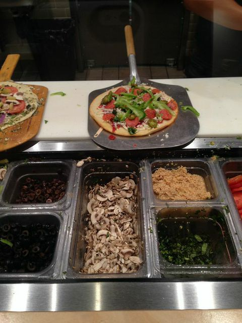 Pieology Gluten Free Pizza