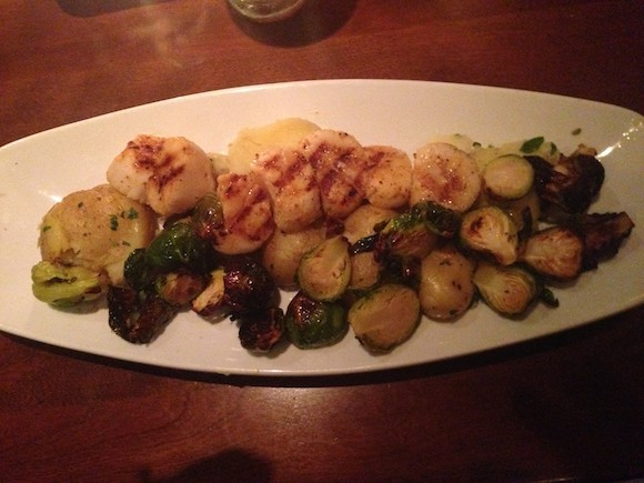 Seasons 52 Gluten Free Menu - Scallops