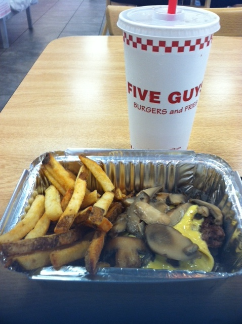 Five Guys Gluten Free Menu